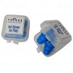VIAGGI Soft Silicone Blue Ear Plugs ( Set of 2)