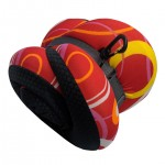 VIAGGI INOVA Memory Foam Travel Neck Pillow - Red