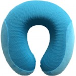 VIAGGI Cooling Gel Memory Foam Travel Neck Pillow