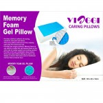 VIAGGI Memory Foam Sleeping Pillow With Cooling Gel