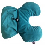 VIAGGI 2 In 1 Microbeads Convertible Travel Neck Pillow