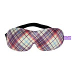 VIAGGI Purple 3D Printed Eye Mask, Blindfold Sleep Eye Mask for Travel, Sleeping Eye Mask for Women and Men, Eye Cover