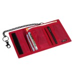 VIAGGI Travel Cash Carrier Wallet - Red