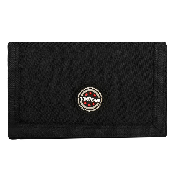 VIAGGI Unisex Travel Card Holder - Black