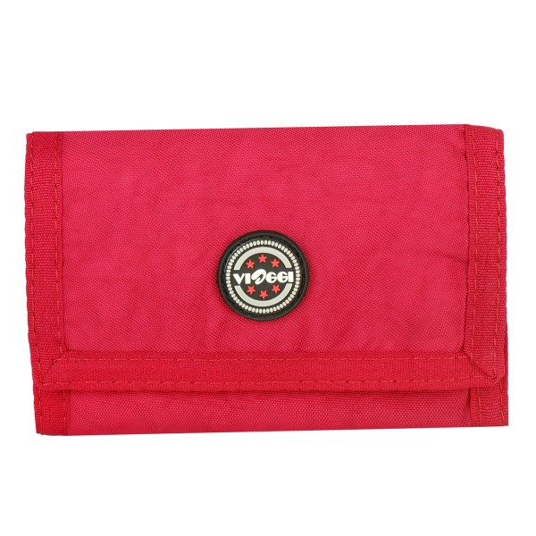 VIAGGI Unisex Travel Card Holder - Red