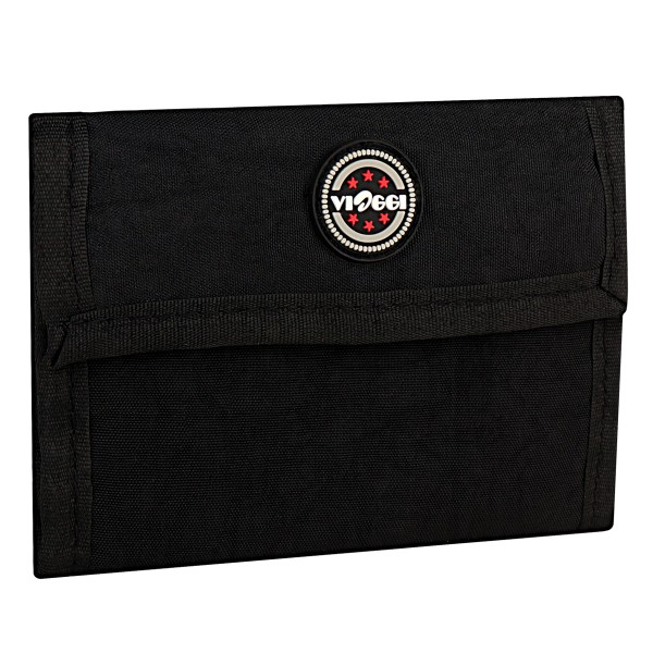 VIAGGI Unisex Travel Wallet - Black