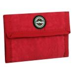 VIAGGI Unisex Travel Wallet - Red