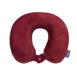 VIAGGI Burgundy U Shaped Memory Foam Travel Neck and Neck Pain Relief Comfortable Super Soft Orthopedic Cervical Pillows