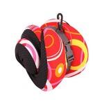 VIAGGI INOVA Memory Foam Travel Neck Pillow - Red