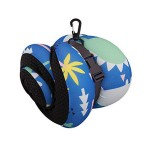 VIAGGI INOVA Memory Foam Travel Neck Pillow -Blue