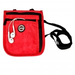 Neck Pouch Red