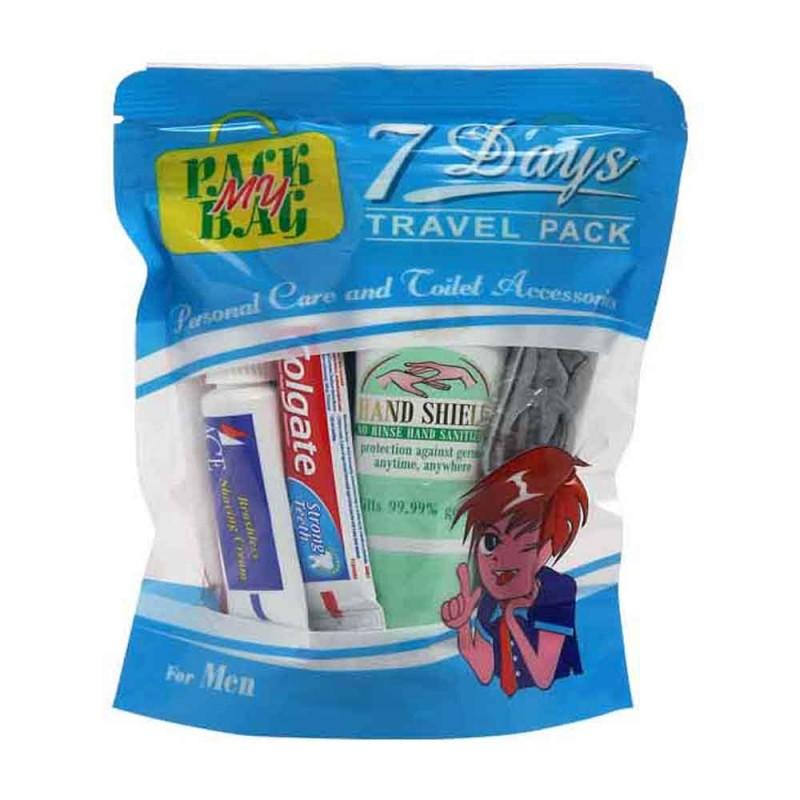 7 Days Travel Toiletry Kit For Men