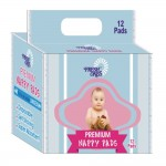 Premium Nappy's   12Pieces (TAIN0033) x pack of 12