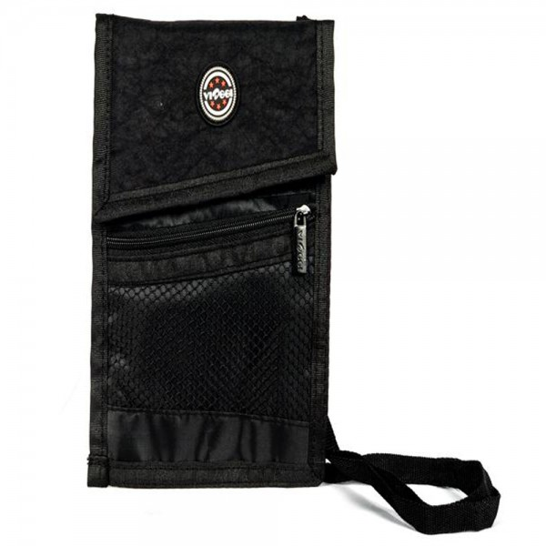 Viaggi Travel Neck Pouch Black